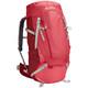 VAUDE Asymmetric 48+8 Backpack Women indian red
